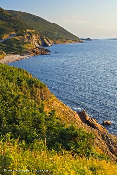 Photo: Cabot Trail Coastal Scenery Nova Scotia