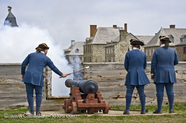 Photo: Cannon Gun Louisbourg Nova Scotia