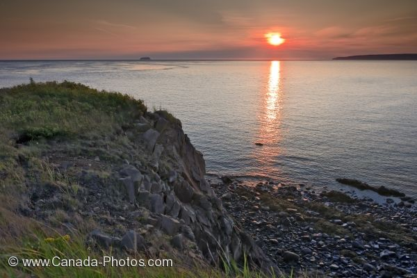 Photo: Cape D Or Coastline Nova Scotia