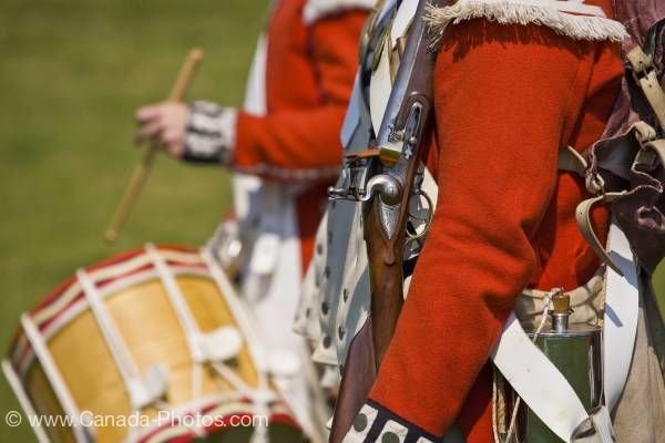 Photo: Signal Hill Tattoo military march Signal Hill National Historic Site in St John's