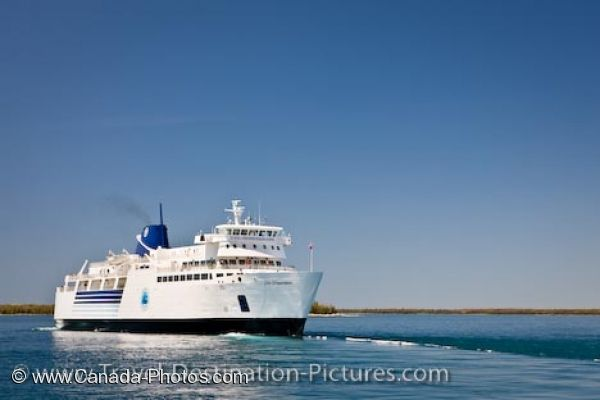 Photo: Chi Cheemaun Ferry Tobermory Lake Huron Ontario