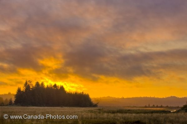 Photo: Cluxewe Sunset Northern Vancouver Island