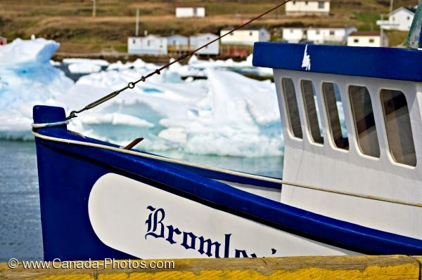 Photo: Conche Harbour Fishing Boat Newfoundland