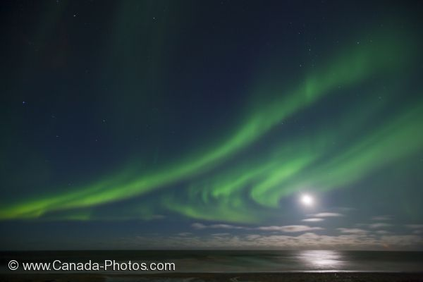 Photo: Dancing Northern Lights Churchill Manitoba