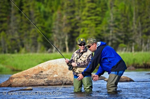 Fly fishing lessons main brook photo travel idea canada for Fly fishing classes