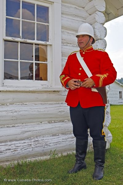 Photo: Fort Walsh Jail Guard Saskatchewan Canada