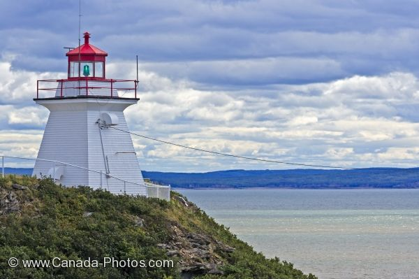 Photo: Fundy Coastal Drive Lighthouse Cape Enrage New Brunswick