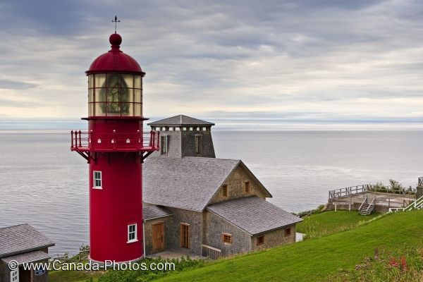Photo: Gaspesie Peninsula Lighthouse Point A La Renommee