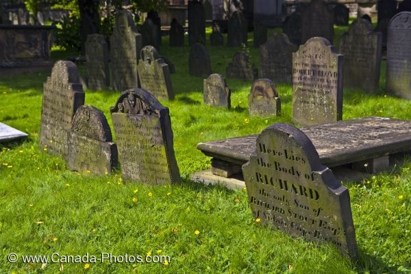 Photo: Graveyard Halifax Nova Scotia