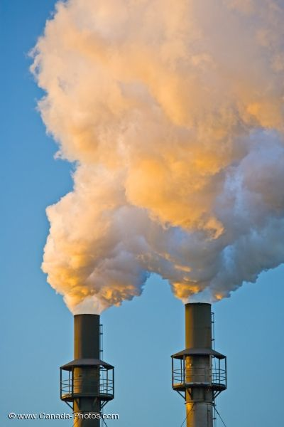 Photo: Industrial Pollution Sault Ste Marie Ontario