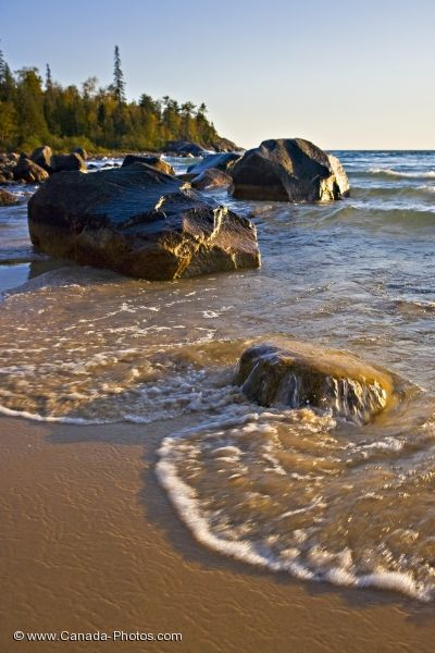 Photo: Katherine Cove Beach Lake Superior Ontario