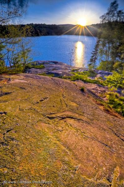 Photo: Scenic Killarney Provincial Park Sunset Ontario