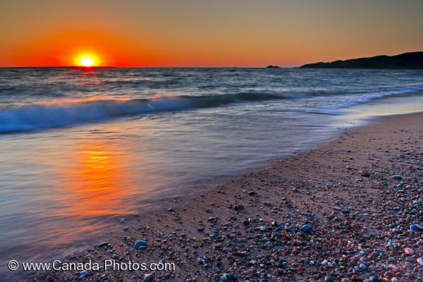 Photo: Lake Superior Scenic Sunset Ontario