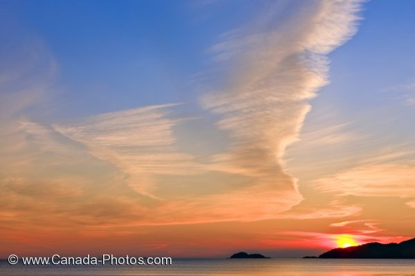 Photo: Lake Superior Yellow Sunset Agawa Bay Ontario
