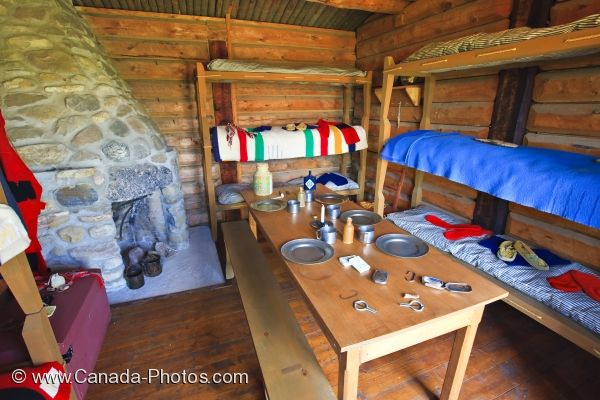 Photo: Last Mountain House Provincial Park Mens Quarters Saskatchewan
