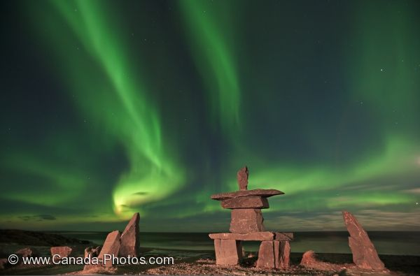 Photo: Magical Northern Lights Churchill Manitoba