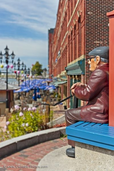 Photo: Market Square Artwork Saint John New Brunswick
