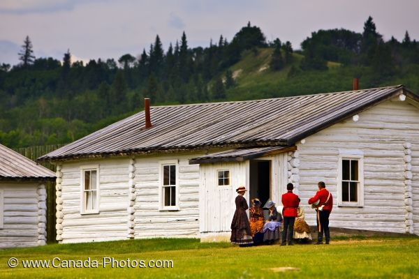Photo: Fort Walsh National Historic Site Costumed Interpreters