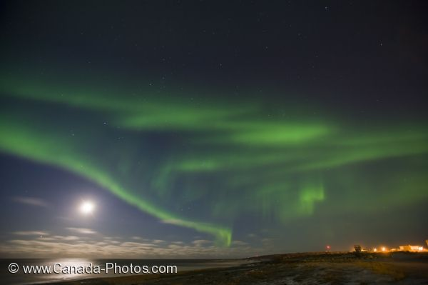 Photo: Northern Lights Show Hudson Bay Churchill