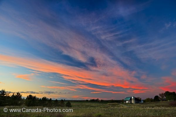 Photo: Parc De La Plaisance Campground Sunset Quebec Canada