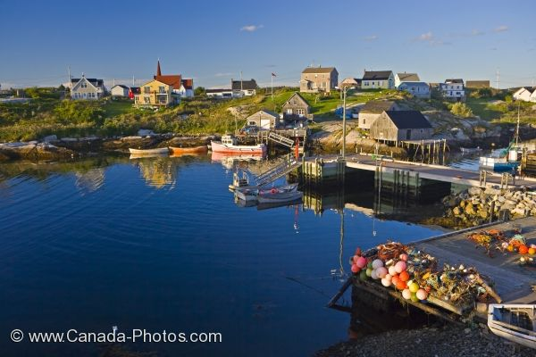 Photo: Peggys Cove Town St Margarets Bay Nova Scotia