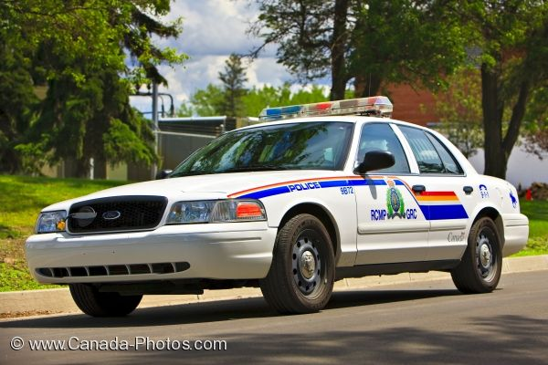 Photo: Police Car RCMP Academy Regina Saskatchewan