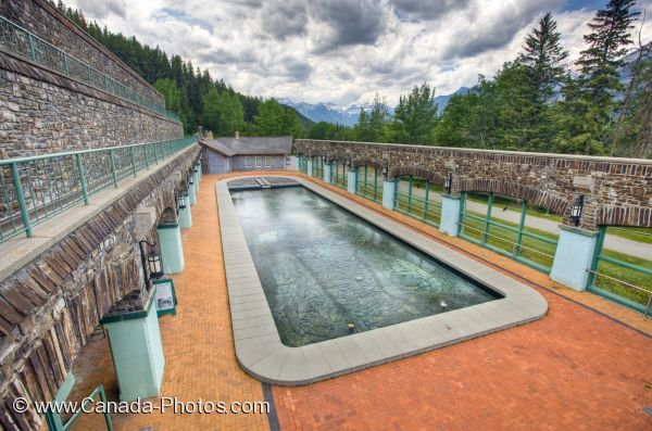 Photo: Pool Cave And Basin National Historic Site Banff