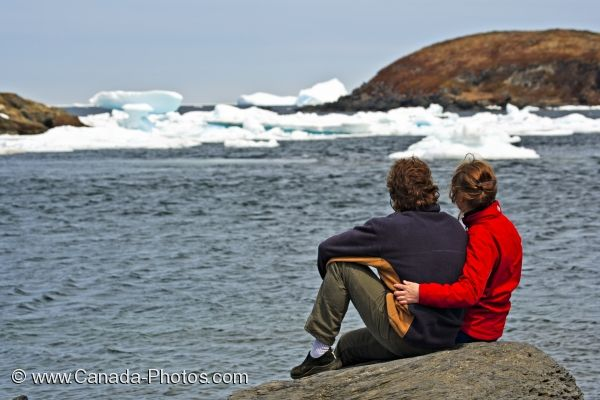 Photo: Quirpon Harbour Icebergs Newfoundland