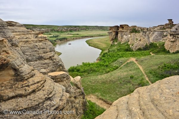Photo: River Raft Hoodoos