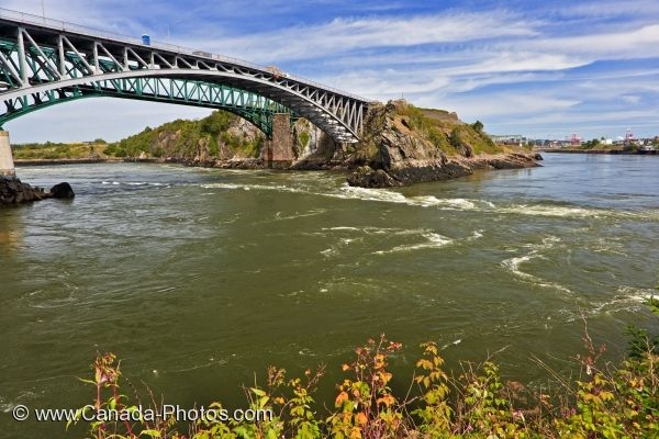 Photo: Saint John River Reversing Falls New Brunswick