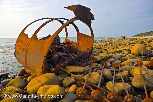 Photo: Shipwreck SS Ethie
