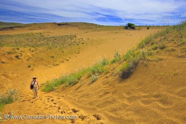 Photo: Spirit Sands Tourist Spruce Woods Provincial Park Manitoba