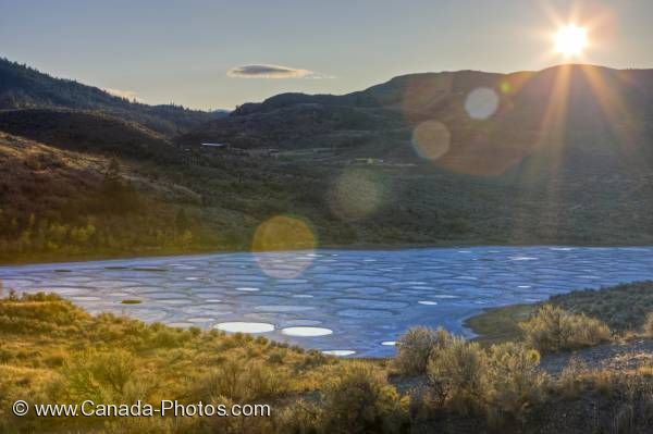 Photo: Spotted Lake Similkameen Valley Okanagan
