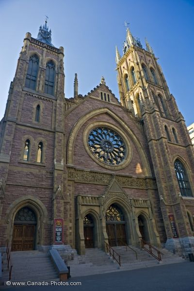 Photo: St James United Church Facade Centre Ville Montreal