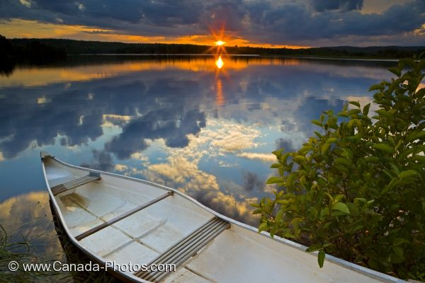 Photo: St Marys River Sunset Reflections Sherbrooke Nova Scotia