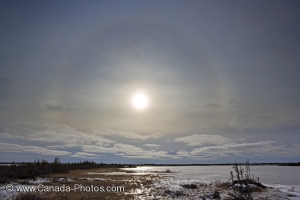 Photo: Sun Halo Churchill Manitoba