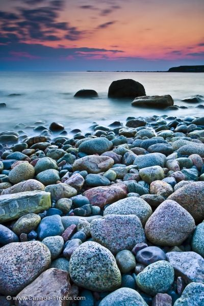 Photo: Sunset Colors Green Point Newfoundland