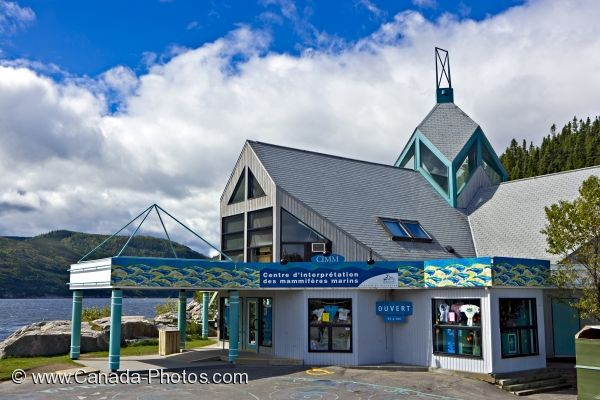 Photo: Tadoussac Interpretation Centre Quebec Canada