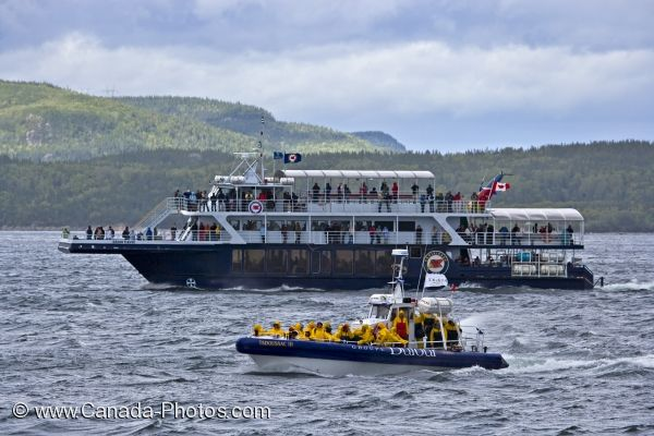 Photo: Tadoussac Whale Watching Boats Quebec