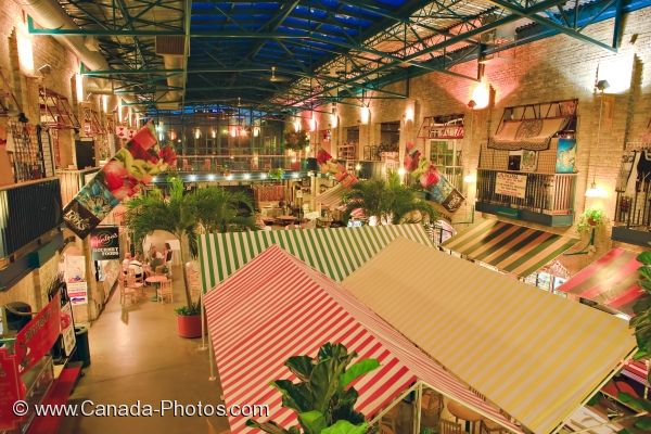 Photo: The Forks Market Winnipeg City Manitoba
