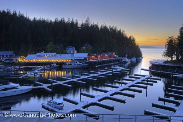 Photo: Northern Vancouver Island Vacation Destination Telegraph Cove