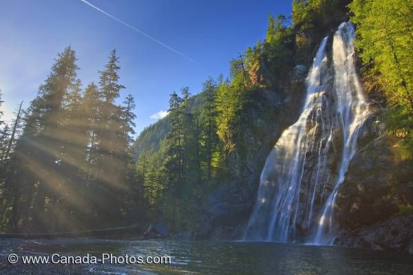 Photo: Virgin Falls Waterfall Vancouver Island BC