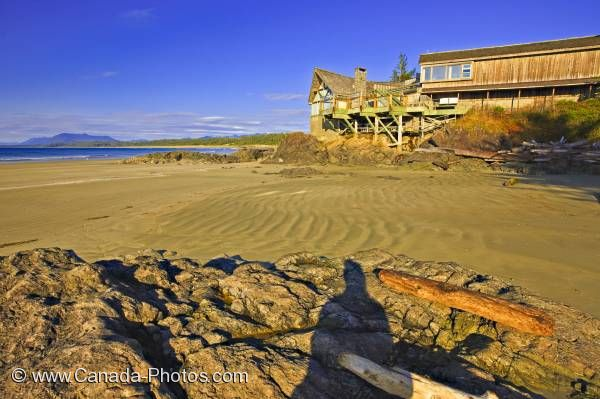 Photo: Wickaninnish Beach Visitor Centre Pacific Rim National Park