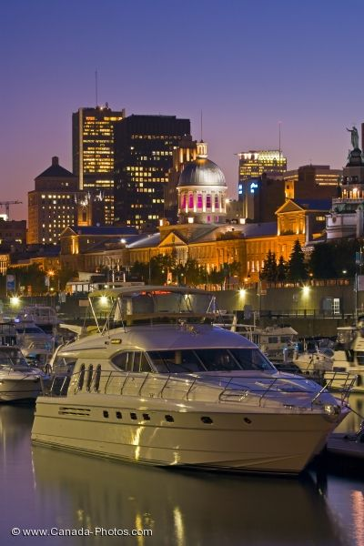 Photo: Waterfront Night Lights Montreal City