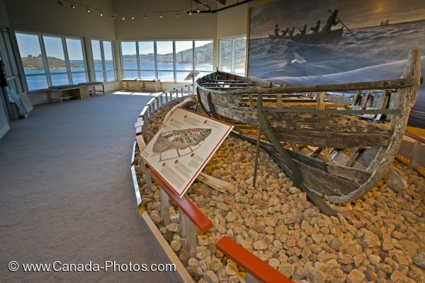Photo: Ancient Whaling Boat Red Bay